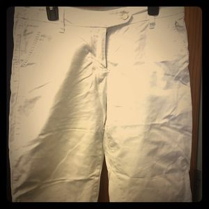 New York & Co white capris